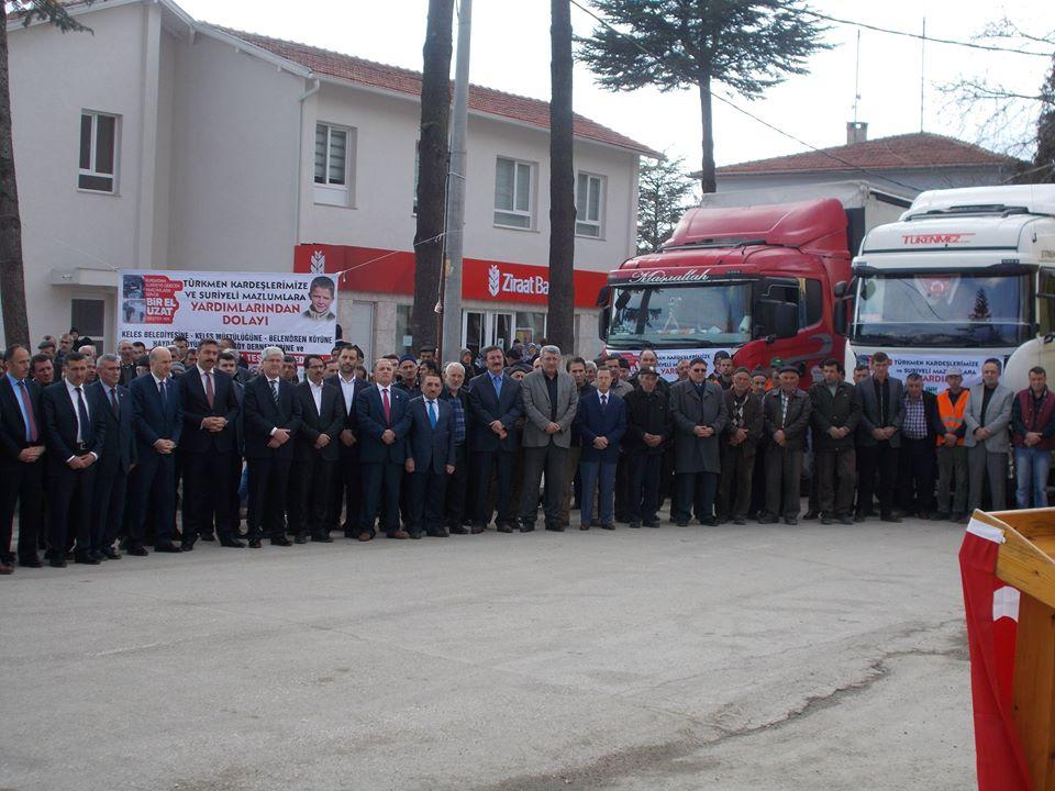 Türkmen Kardeşlerimiz için toplanan yardım