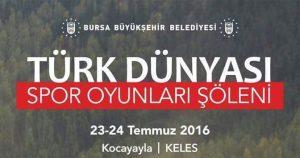 Türk Dünyası Kocayayla' da Buluşuyor…
