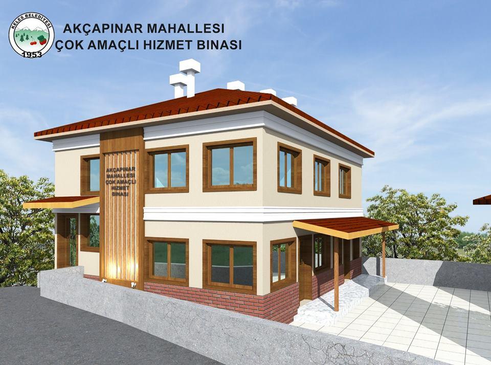 Akçapınar Mahallesi Hizmet Binası