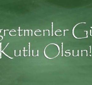 24 Kasım Öğretmenler Günü